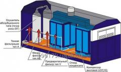 Design of compressor station