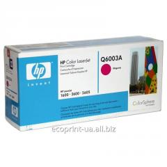 Service of gas station of a cartridge HP Q6003A