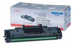 Service of gas station of a cartridge for Xerox