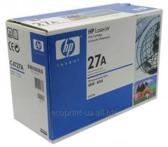 Service of gas station of a cartridge HP LJ C4127A
