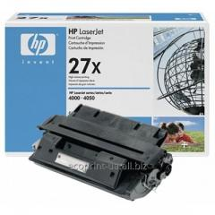 Service of gas station of a cartridge HP LJ C4127X