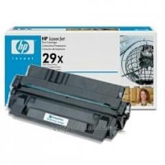 Service of gas station of a cartridge HP LJ