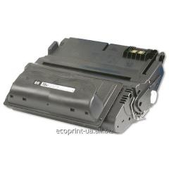 Service of gas station of a cartridge HP LJ Q1338