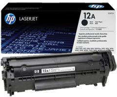 Service of gas station of a cartridge HP LJ Q2612A