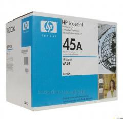 Service of gas station of a cartridge HP LJ Q5945