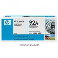 Service of gas station of a cartridge of HP LJ