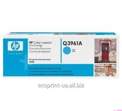 Service of gas station of a cartridge HP Q3961A HP