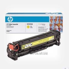 Service restoration of a cartridge of HP CC532 A