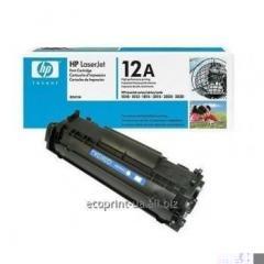 Service restoration of a cartridge of HP LJ Q2612A