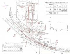 Design of railway tracks. Vinnytsia, Vinnytsia