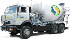 Услуги перевозки бетона