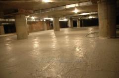 Waterproofing of parkings and parkings