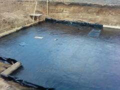 Anti-filtrational waterproofing