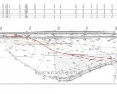 Design of railway tracks. Dnipropetrovsk and