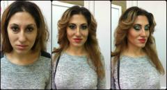 Wedding make-up / an evening make-up / evening