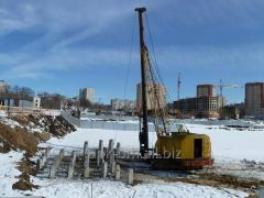 Blockage of piles in Kharkiv