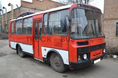 Repair of PAZs buses