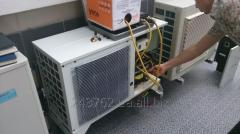 Installation and commissioning of refrigerating