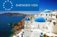 Визы в Грецию в чистый и въезженный паспорт