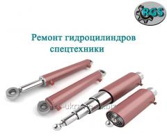 Repair of hydraulic cylinders.