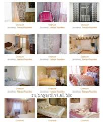 Selection of curtains and curtains