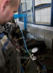 Repair and restoration of gas-oil shock-absorbers