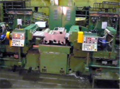 Machines horizontal finishing and boring with
