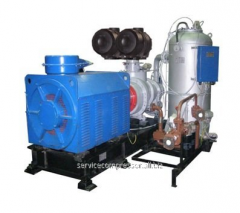 Rent of the compressor equipmen
