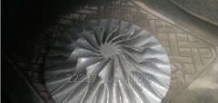 Molding of aluminum details