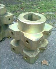 Production of products from brass