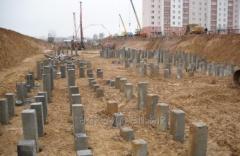 Blockage of piles in Poltava