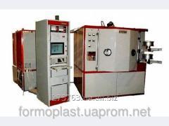 Metallization by a vacuum dusting