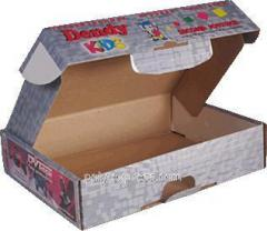 Изготовление кашированной коробки из микрогофрокартона под заказ от 1000 штук