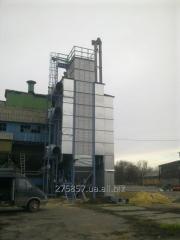 Construcția complexelor de uscare a cerealelor