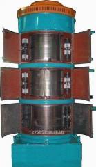 Zernoseparator's repair BTsS 25 and 50.