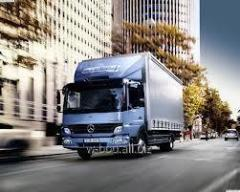 Cargo transportation across Ukraine Mercedes Otego