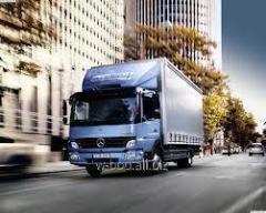Грузоперевозки по Украине  Mercedes Otego тент до