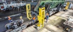 Repair of railway cars