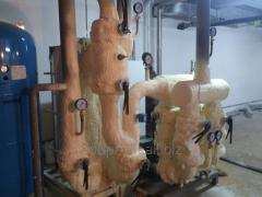 PPU polyurethane foam rigid napylyaemy