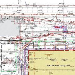 Design of the railroads. Kherson, Kherson Region.