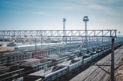 Rail transportation across Ukraine, the CIS and