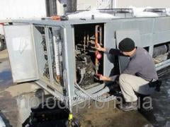 Maintenance of refrigerating appliances