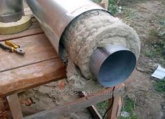 Теплоизоляция дымовых труб