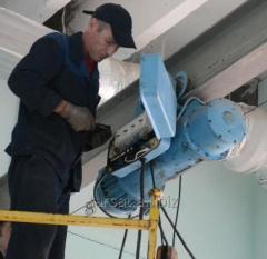 Repair of a telfer and wais