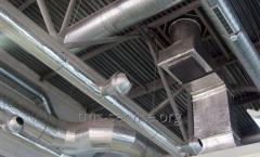 Проектирование систем вентиляции воздуха, воздуходов