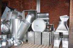 Installation, installation of ventilating systems
