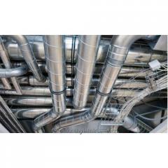 Монтаж и обслуживание систем кондиционирования и вентиляции