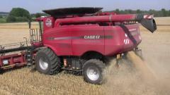 Услуги комбайна по уборке зерна