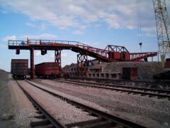 Reconstruction of access railway roads. Chernihiv,