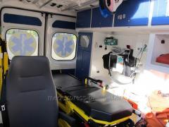 Transportation of the patient after a stroke from